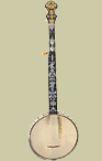 Fairbanks/Vega Style Banjo With Fancy John Greven Neck